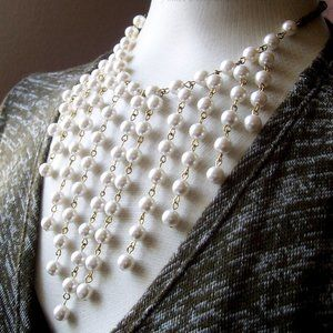 Jewelry - Exquiste , OOAk, Victorian Style,Vintage Pearls